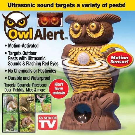 Aparat antidaunatori Ultra Sonic si senzori de miscare Owl Alert