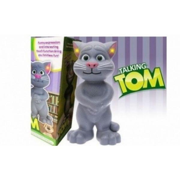 Motanul vorbitor Tom (Talking Tom) 24 cm